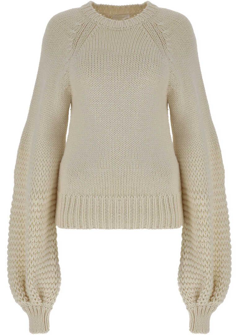 Chloe Chloe Sweater CHC21WMP05590 PAPYRUS WHITE image0