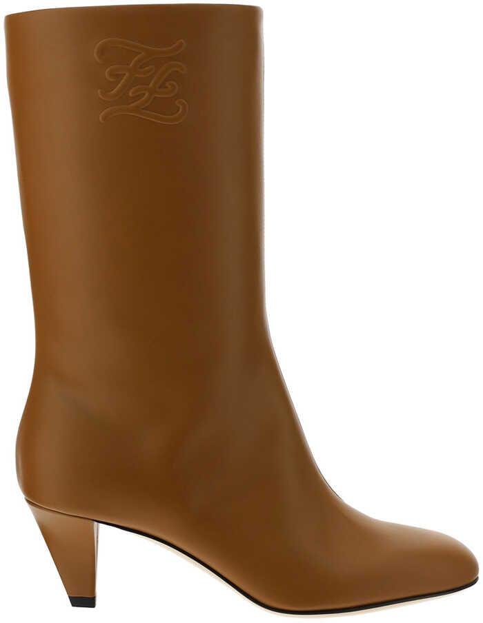 Fendi Boots 8T8178AGDV SABBIA BAG image0