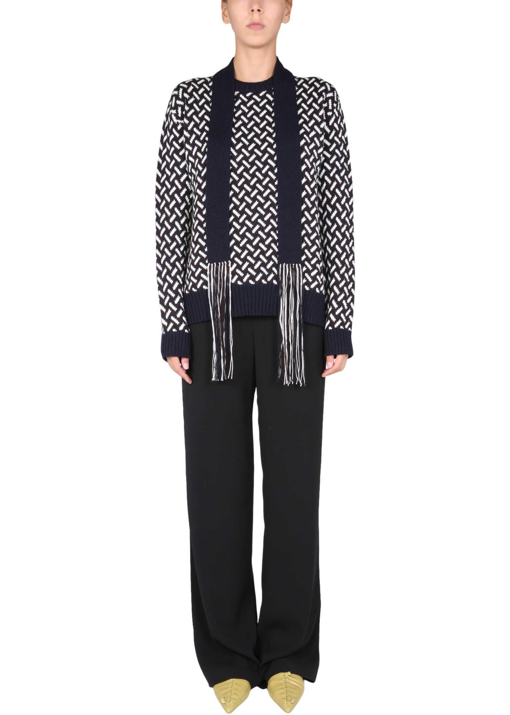 Jil Sander Jacquard Sweater JSWT752301_WTY20088970 MULTICOLOUR image0