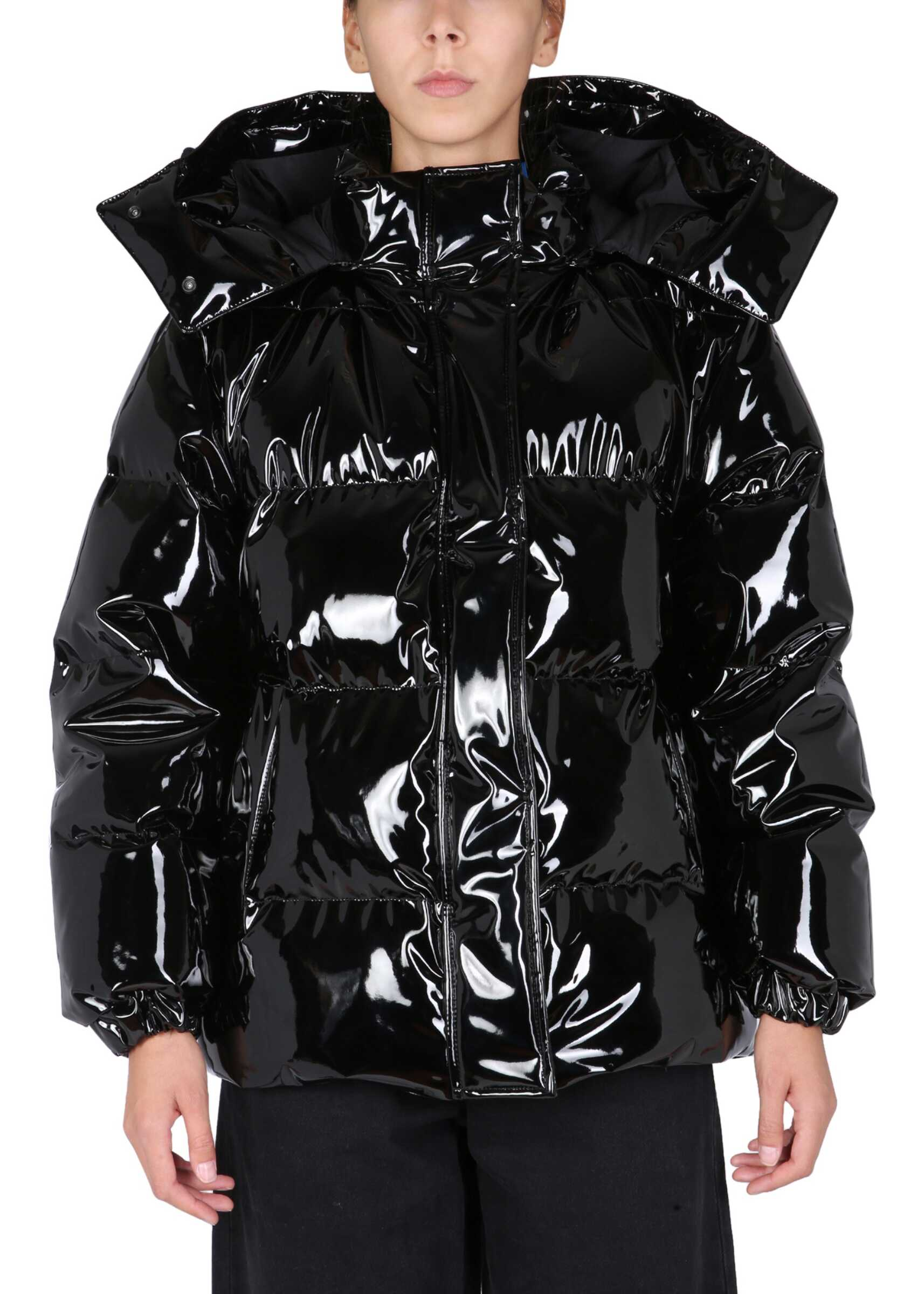 MSGM Water Repellent Down Jacket 3142MDH109_21780399 BLACK image0