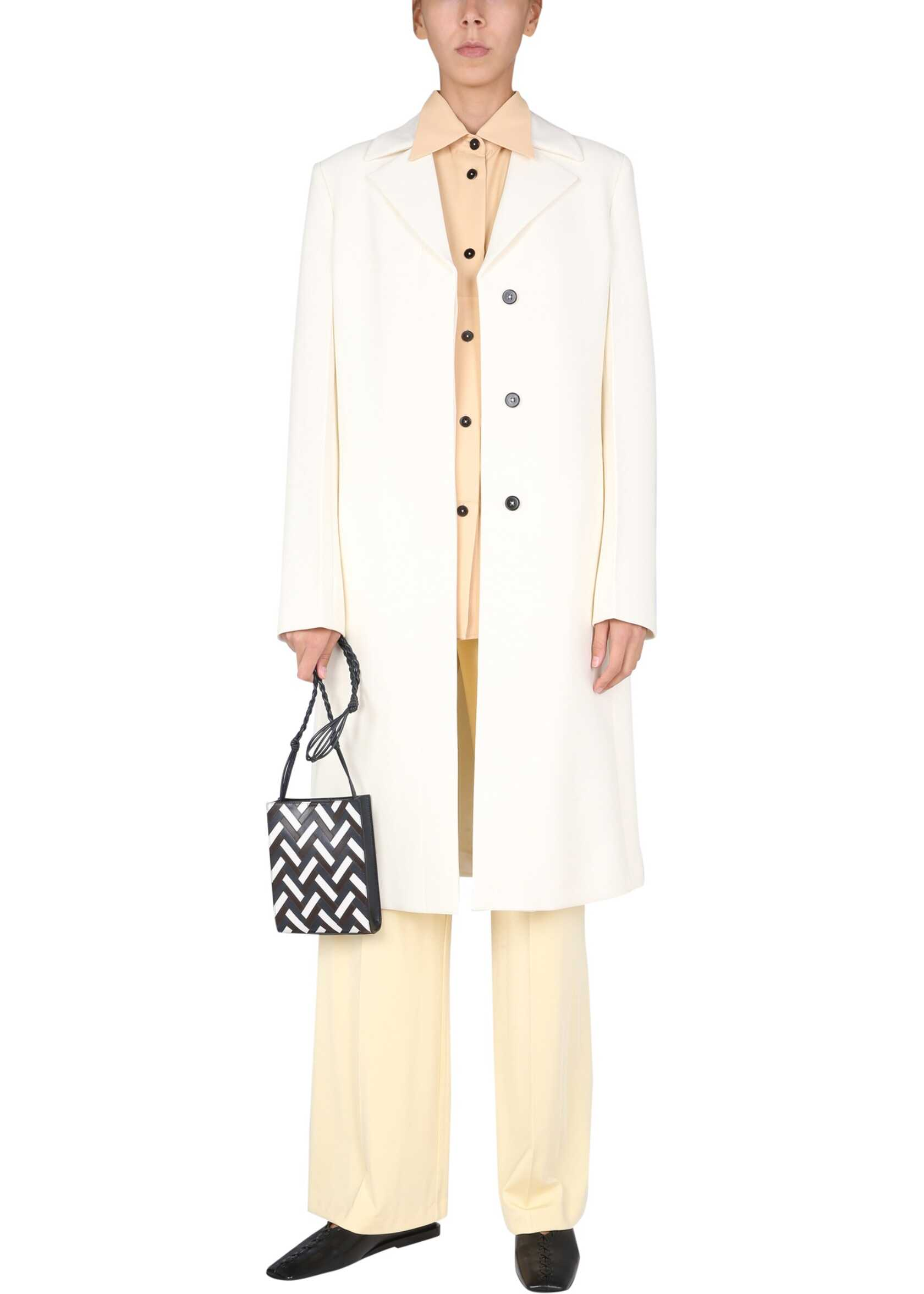 Jil Sander Tailored Coat JSWT105310_WT20040F109 WHITE image0