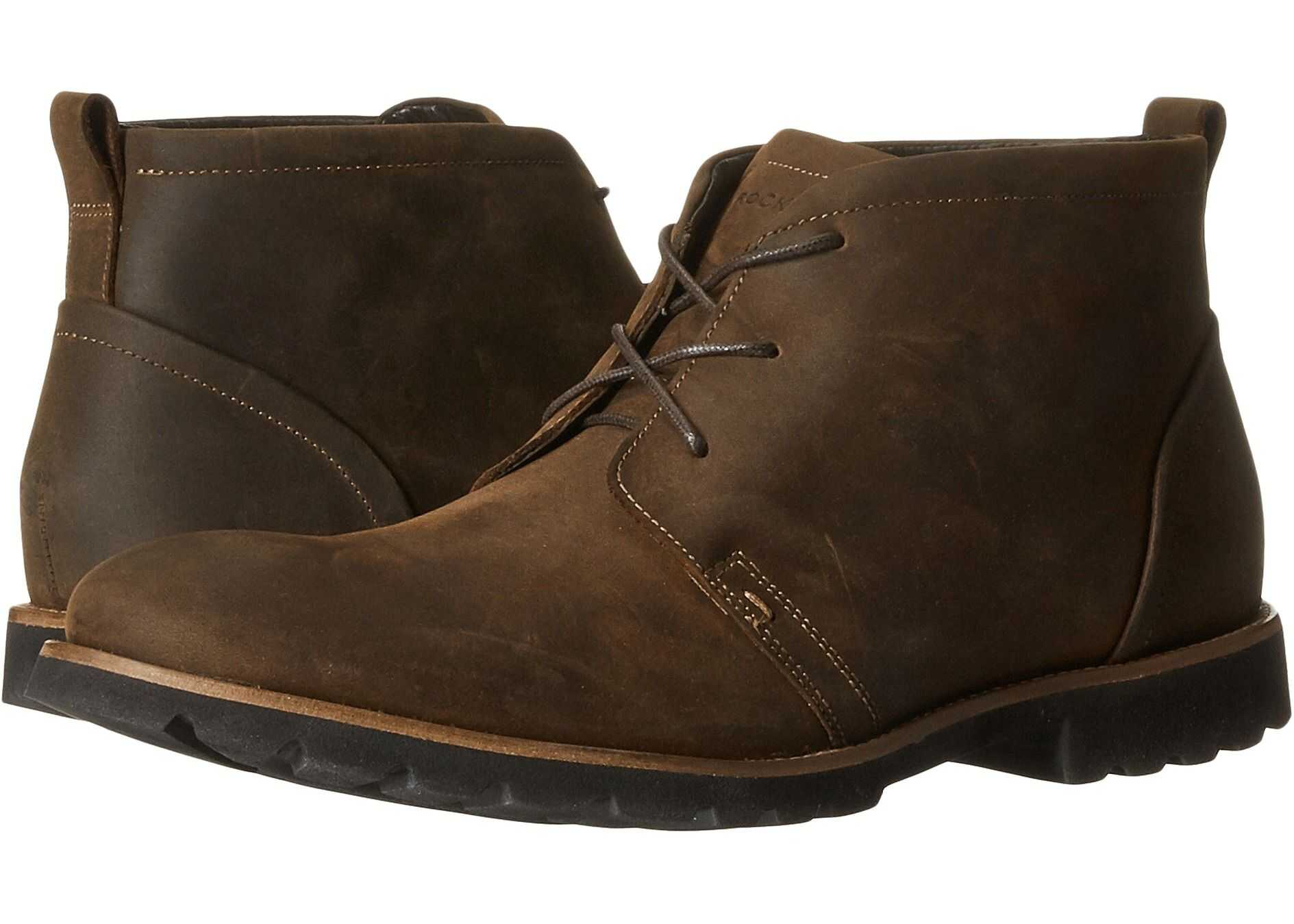 Rockport Charson Brown Oiled Leather