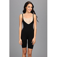 Femei Spanx Slimmer & Shine® Open-Bust Mid Thigh Body