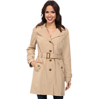 Jachete Hooded Trench Coat CW442763 Femei