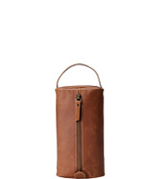 Genti Leather Pull Up Cord Case
