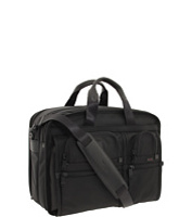 Genti Diplomat Alpha - Large Expandable Organizer Computer Brief Femei