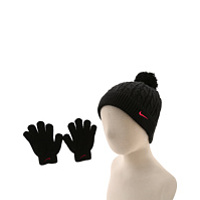 Accesorii Cable Knit Beanie/Glove Set (Little Kids/Big Kids)