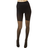 Femei Spanx Patterned Tight-End Tights® Metallic Luxe