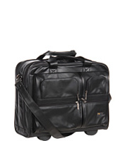 "Genti Diplomat Classic 15.6"" Leather Rolling Case Femei"