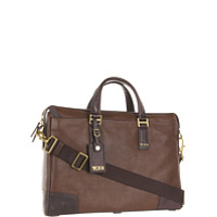 Genti Diplomat Beacon Hill - Irving Slim Leather Brief Femei
