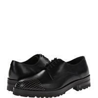 Pantofi Oxfords Brushed Calf Lace-Up with Stud Toe Barbati