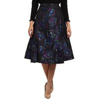 Fuste Floral Clip Dot A Line Skirt Femei