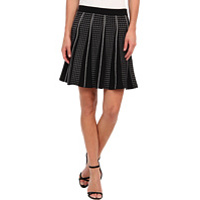 Fuste Yaz A-Line with Piping Skirt Femei