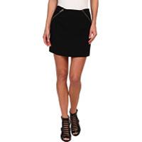 Fuste Zipper Detail Mini Skirt GEF3E977 Femei