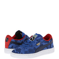 Incaltaminte Suede Camo Jr (Little Kid/Big Kid)