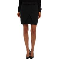 Fuste Edie Tropical Wool Mini Skirt w/ Pleat Detail Femei