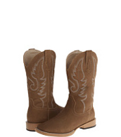 Incaltaminte Square Toe Traditional Western Stitch Boot (Big Kid)