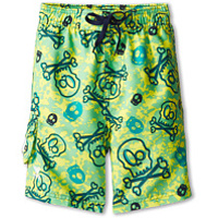 Costume de baie Crossbones Challenger Trunk (Little Kids/Big Kids) Baieti