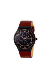 Ceasuri Grenen Leather Multifunction Watch