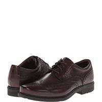 Pantofi Oxfords Style Tip Wingtip Barbati