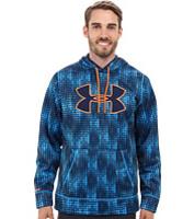 Bluze & Hanorace UA Storm Armour® Fleece Big Logo Blocked Hoodie Barbati