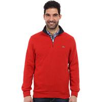Bluze & Hanorace Half Zip Lightweight Sweatshirt w/ Logo At Neck Barbati