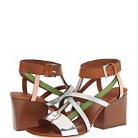 Incaltaminte Multi Strap Leather Sandal
